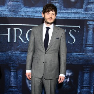 Iwan Rheon in Los Angeles Premiere for Season 6 of HBO's Game of Thrones