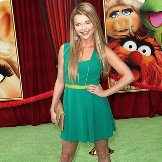 Izabella Miko in The Premiere of Walt Disney Pictures' The Muppets - Arrivals - izabella-miko-premiere-the-muppets-03
