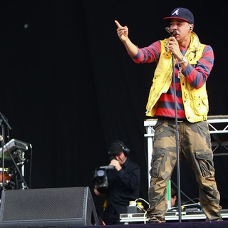 J. Cole - Barclaycard Wireless Festival 2012 - Day 3