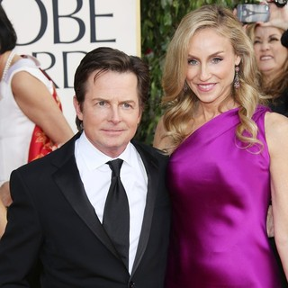 Michael J. Fox, Tracy Pollan in 70th Annual Golden Globe Awards - Arrivals