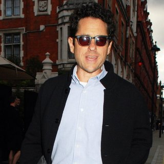 J.J. Abrams in Celebrities at Chiltern Firehouse