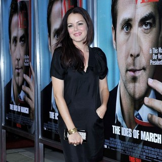 Jacinda Barrett in The Premiere of The Ides of March - Arrivals
