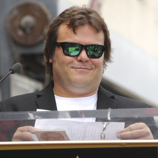 Jack Black in John Cusack Honored with A Star on The Hollywood Walk of Fame