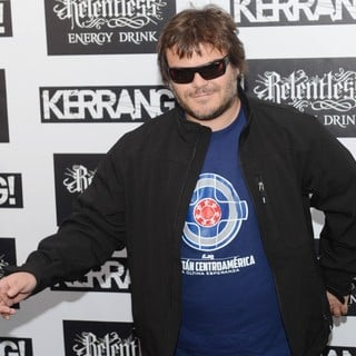 Jack Black in Kerrang! Awards 2012 - Arrivals - jack-black-kerrang-awards-2012-01