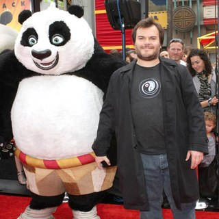 Jack Black in Los Angeles Premiere of Kung Fu Panda 2