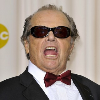 Jack Nicholson in The 85th Annual Oscars - Press Room