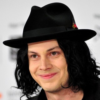 Jack White in White Stripes: Under The Great White Northern Lights Press Conference