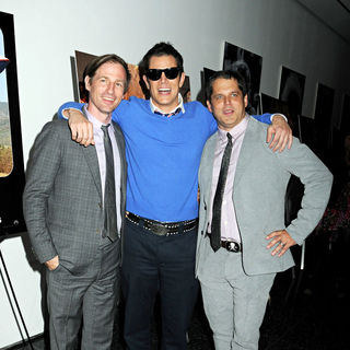 Spike Jonze, Johnny Knoxville, Jeff Tremaine in World Premiere of 'Jackass 3D'