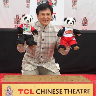 Jackie Chan Is Honoured with A Hand and Foot Print Ceremony