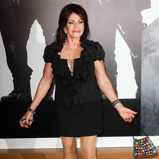 Jackie Stallone in The Los Angeles Premiere of The Expendables 2