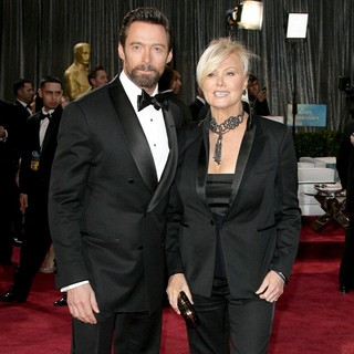 Hugh Jackman in The 85th Annual Oscars - Red Carpet Arrivals - jackman-furness-85th-annual-oscars-01
