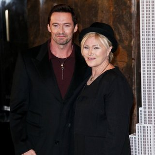 Hugh Jackman, Deborra-Lee Furness in Hugh Jackman Lights The Empire State Building Green and Gold to Honor Australia Day