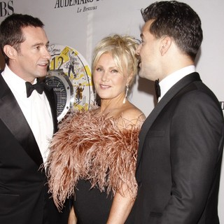 Hugh Jackman, Deborra-Lee Furness, Ricky Martin in The 66th Annual Tony Awards - Arrivals