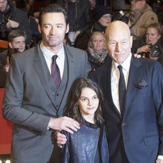 Hugh Jackman, Dafne Keen, Patrick Stewart-67th International Berlin Film Festival - Logan - Premiere