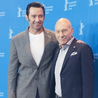 Hugh Jackman, Patrick Stewart-67th International Berlin Film Festival - Logan - Photocall