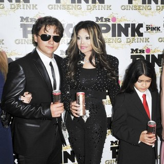 Paris Jackson, Prince Jackson, La Toya Jackson, Prince Michael II, Monica Gabor in Mr. Pink's Ginseng Energy Drink Launch - Arrivals