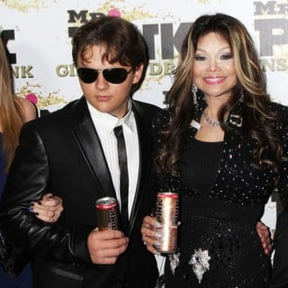 Paris Jackson, Prince Jackson, La Toya Jackson, Prince Michael II in Mr. Pink's Ginseng Energy Drink Launch - Arrivals