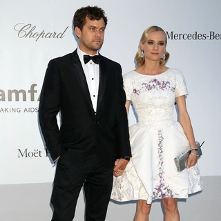 Joshua Jackson, Diane Kruger in AmfAR's Cinema Against AIDS Gala 2012 - During The 65th Annual Cannes Film Festival