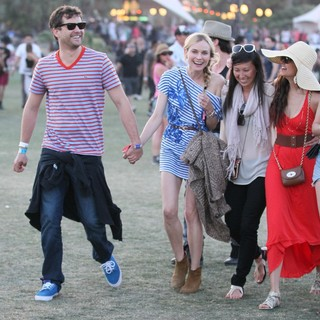 Joshua Jackson, Diane Kruger, Nina Dobrev in Celebrities at The 2012 Coachella Valley Music and Arts Festival - Day 3
