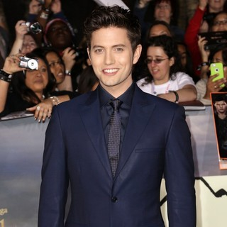 Jackson Rathbone in The Premiere of The Twilight Saga's Breaking Dawn Part II