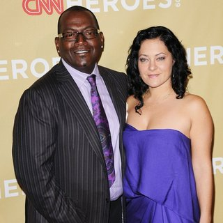 Randy Jackson, Erika Riker in CNN Heroes: An All-Star Tribute - Arrivals