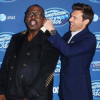 Randy Jackson, Ryan Seacrest in American Idol Season 12 Premiere Event
