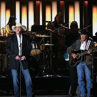 Alan Jackson, George Strait in 47th Annual CMA Awards - Show