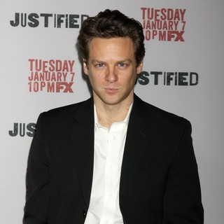 Jacob Pitts in Justified Premiere Screening - Directors Guild of America