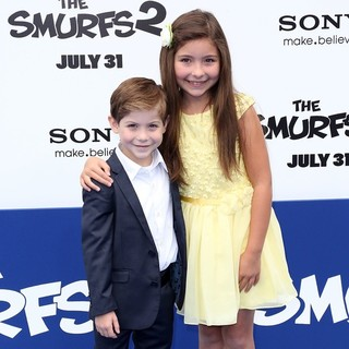 Jacob Tremblay in The Los Angeles Premiere of The Smurfs 2 - Arrivals