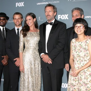 Peter Jacobson, Omar Epps, Jesse Spencer, Odette Annable, Hugh Laurie, David Shore, Charlyne Yi, Robert Sean Leonard in Fox's House Series Finale Wrap Party - Arrivals