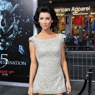 Jacqueline MacInnes Wood in The LA Premiere of Final Destination 5