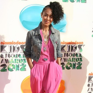 Jada Pinkett Smith in 2012 Kids' Choice Awards - Arrivals