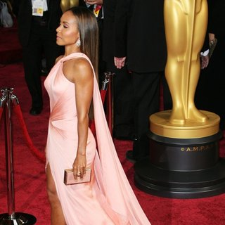 Jada Pinkett Smith in The 86th Annual Oscars - Red Carpet Arrivals