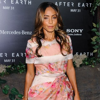 Jada Pinkett Smith in New York Premiere of After Earth
