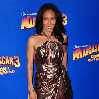 Jada Pinkett Smith in New York Premiere of Dreamworks Animation's Madagascar 3: Europe's Most Wanted