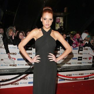 Jade Thompson in The MOBO Awards 2011 - Arrivals