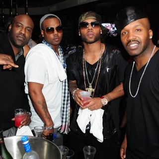 Jagged Edge in Jagged Edge New Single Release Party for Baby