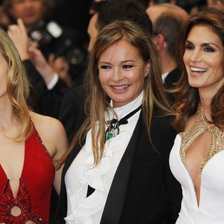 Cindy Crawford in Opening Ceremony of The 66th Cannes Film Festival - The Great Gatsby - Premiere - jagger-cavalli-crawford-66th-cannes-film-festival-01