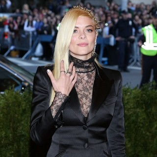 Jaime King in PUNK: Chaos to Couture Costume Institute Gala
