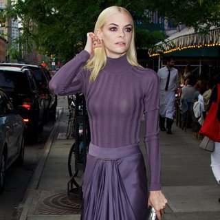 Jaime King Spotted in The East Village