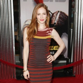 Jaime Ray Newman in Los Angeles Premiere of Real Steel