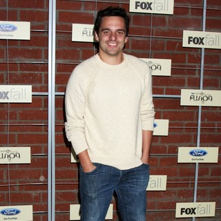 Jake Johnson in FOX Fall Eco-Casino Party - jake-johnson-fox-fall-eco-casino-party-01