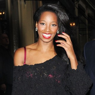 Jamelia in Tesco Mum of The Year Awards - Outside Departures