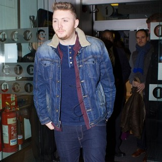 James Arthur in James Arthur Leaving The BBC Radio 1 Studios