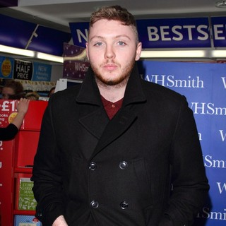 James Arthur in James Arthur at The Signing of His Book James Arthur, My Story