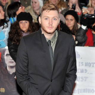 James Arthur in The Premiere of The Twilight Saga's Breaking Dawn Part II - Arrivals