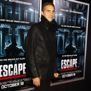 James Caviezel in New York Movie Premiere for Escape Plan