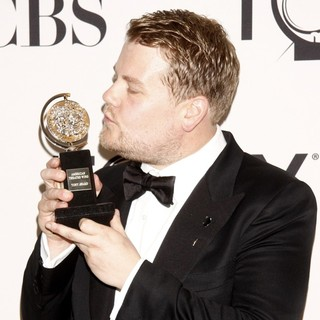 James Corden in The 66th Annual Tony Awards - Press Room