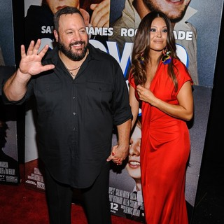 Kevin James, Steffiana de la Cruz in New York Premiere of Grown Ups 2