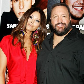 Steffiana de la Cruz, Kevin James in New York Premiere of Grown Ups 2